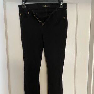 7 For All Mankind Black Jeggings